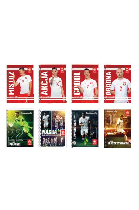 Zeszyt A6 80 kartek reprezentacji Polski