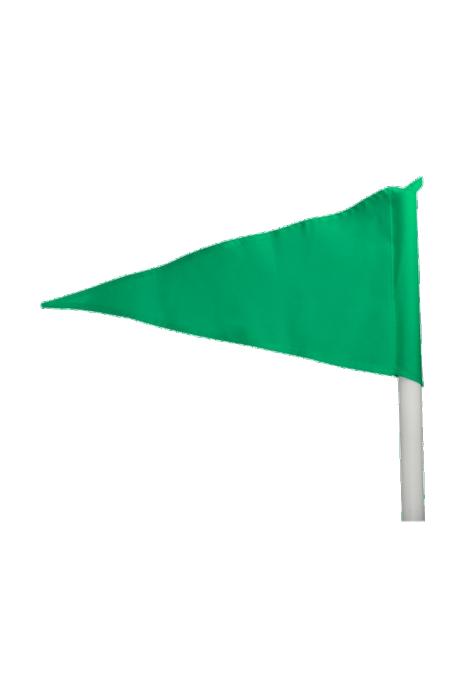 Rohový praporek Select zelený