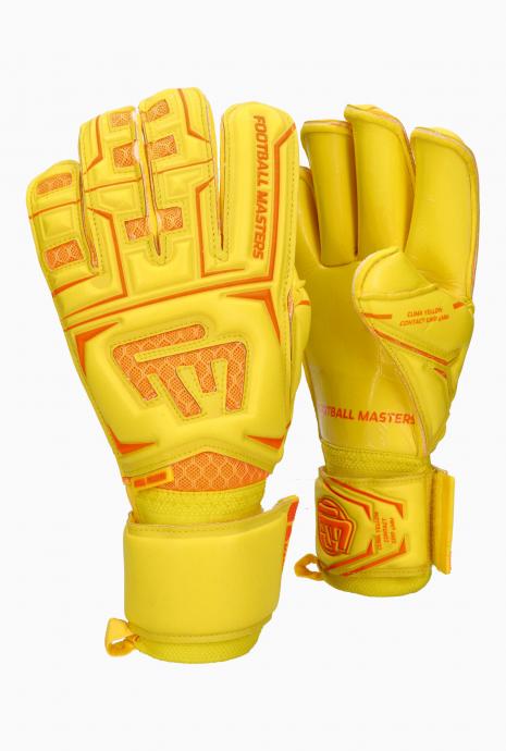 Rukavice Football Masters Clima Yellow Contact Grip RF V 3.0