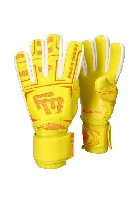 Rukavice Football Masters Clima Yellow Contact Grip NC V 3.0