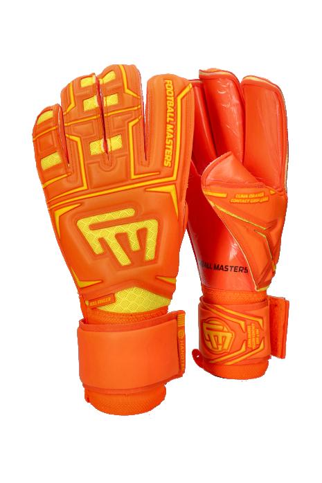 Rukavice Football Masters Clima Orange Contact Grip RF V 3.0