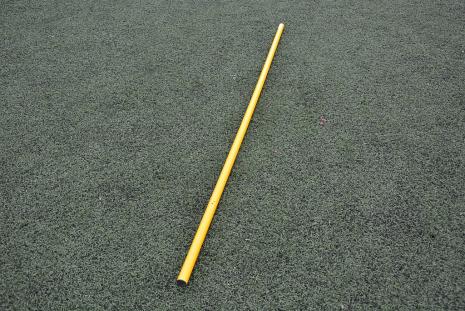 Laska tyczka treningowa Yakimasport 160cm żółta