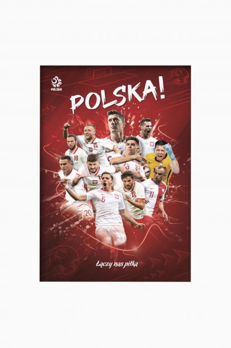 Plakat reprezentacji Polski 40x60 cm