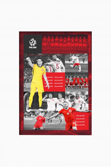 Plakat reprezentacji Polski 20x30 cm
