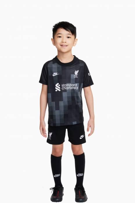 Futbalová súprava Nike Liverpool FC 21/22 Goalkeeper Little Kids