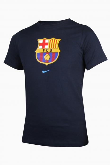 Tričko Nike FC Barcelona 21/22 Tee Evergreen Crest