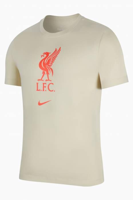 Tričko Nike Liverpool FC 21/22 Tee Evergreen Crest
