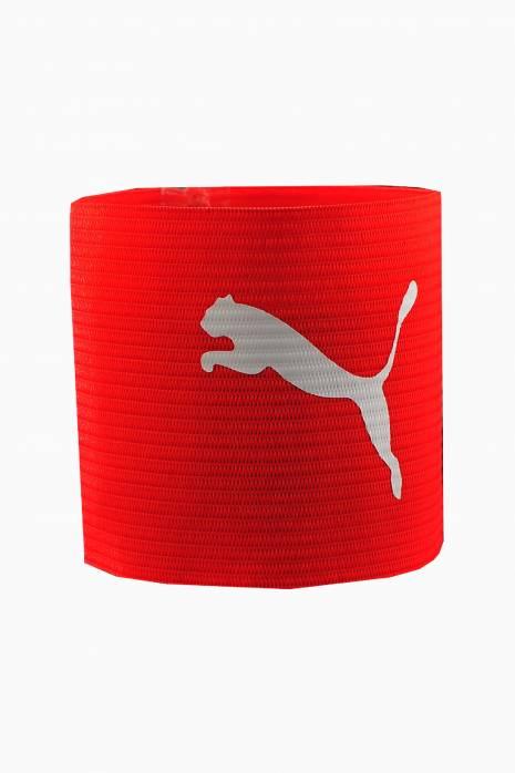 Kapitánska páska Puma červená 50011-01