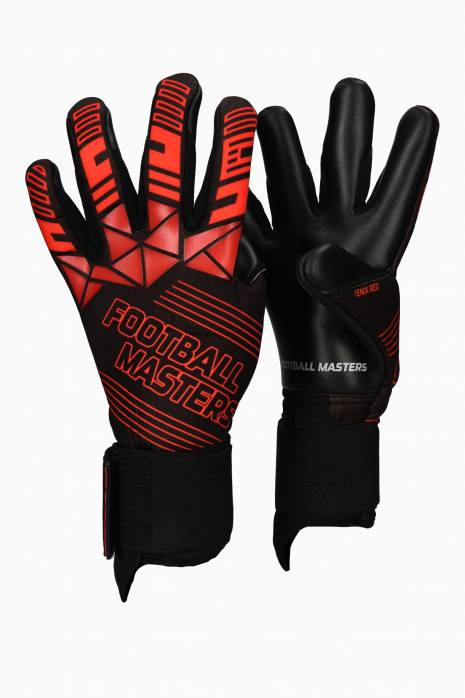 Brankářské rukavice Football Masters FENIX RED