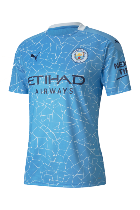Tričko Puma Manchester City FC 20/21 Home Shirt Replica SS