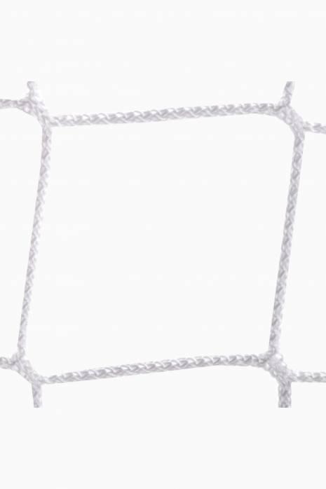 Síť na branku Sportpoland 3x2 m, PP 5 mm, 80/100 cm