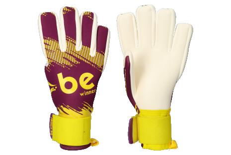 Brankárske rukavice Be Winner Classic Violet Giga Grip NC Long + Liquid