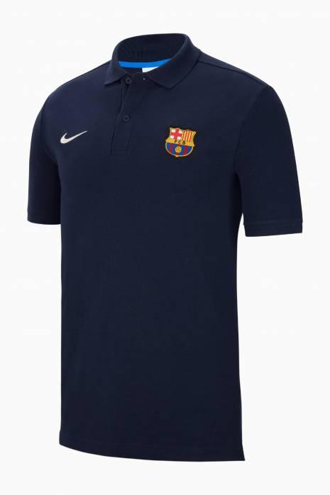 Tričko Polo Nike FC Barcelona 21/22 Polo PQ Crest