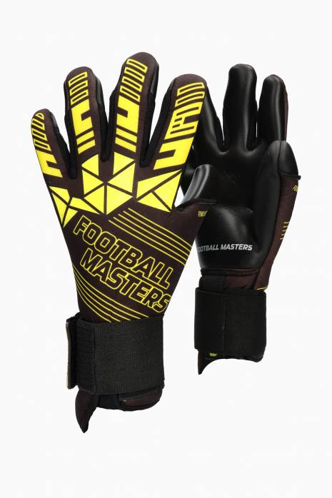 Brankářské rukavice Football Masters FENIX YELLOW Junior
