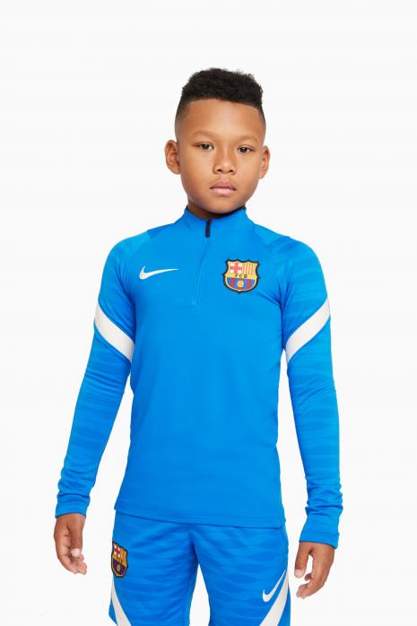 Mikina Nike FC Barcelona 21/22 Dry Strike Dril Top Junior