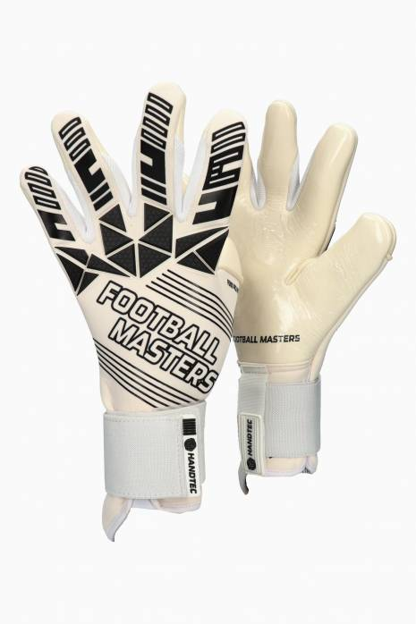 Brankářské rukavice Football Masters FENIX PRO WHITE Junior