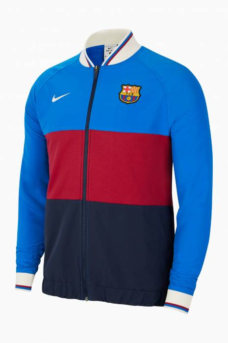 Mikina Nike FC Barcelona 21/22 I96 Anthem Track FZ