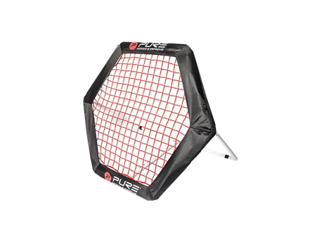 Rebounder manual Pure2Improve Hexago 95 cm x 85 cm