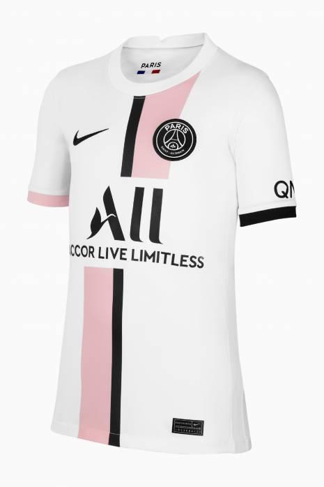 Koszulka Nike PSG 2021/22 Breathe Stadium Wyjazdowa Junior