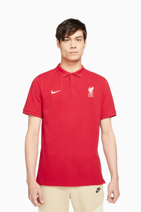 Tričko Polo Nike Liverpool FC 21/22 Polo PQ Crest