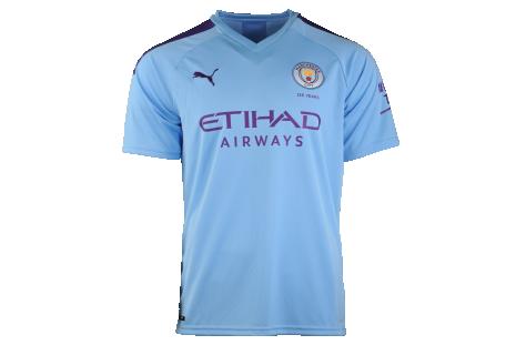 Tričko Puma Manchester City FC 19/20 Home Replica Junior