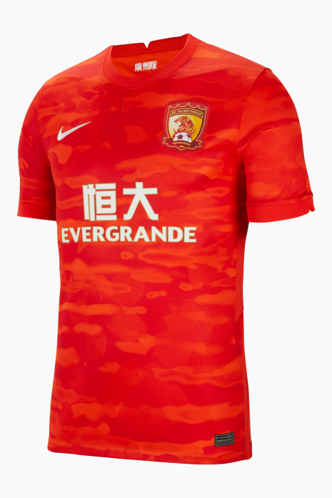 Tricou Nike Guangzhou Evergrande Taobao 2020/21 Breathe Stadium Home