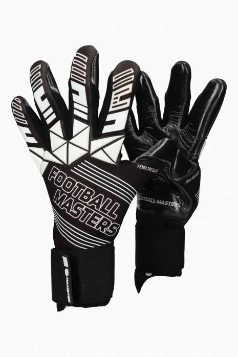 Brankářské rukavice Football Masters FENIX PRO BLACK Junior