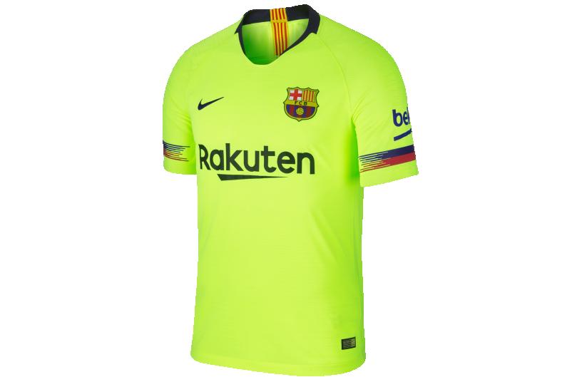 Football Shirt Nike Fc Barcelona Vapor Match 2018 19 Away 918912 702 R Gol Com Football Boots Equipment