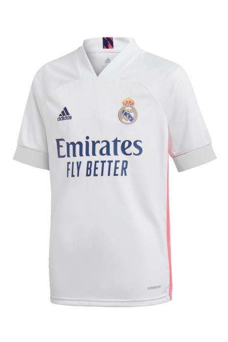 Tričko adidas Real Madrid 20/21 Domáci Replika Junior